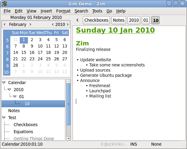 WatFile.com Download Free Showing the alternative embedded calendar view